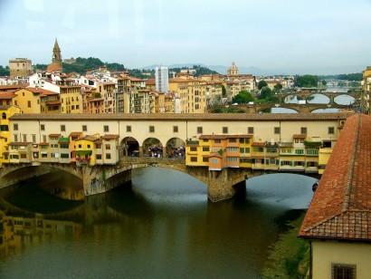 Золотой мост Понте Веккьо Флоренция Италия фото (2)