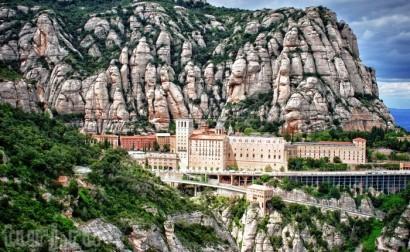 святой монастырь Монсеррат